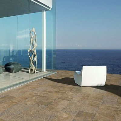 Vulcano brown 30x60 Porcelain, anti-slip