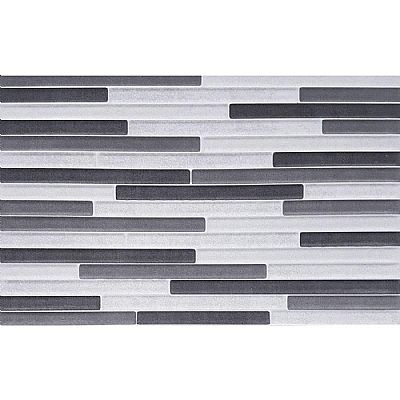 metallic decor gris 25x40